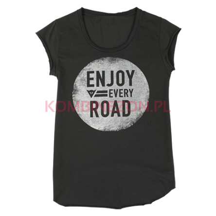 T-SHIRT Dainese NJOY LADY- antracyt
