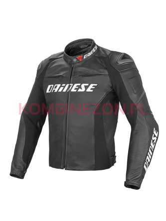Dainese RACING D1 SHORT/TALL LEATHER J czarno/czarno/czarny