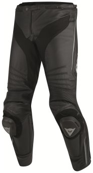 Dainese MISANO LEATHER PANTS- czarno/czarno/antracyt
