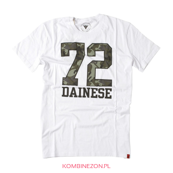 T-SHIRT Dainese SEVENTY-TWO (bianco/verde)