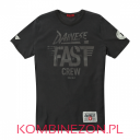 T-SHIRT Dainese FAST CREW- antracyt