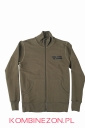 Dainese N`JOY FULL ZIP SWEAT SHIRT- Army-Green