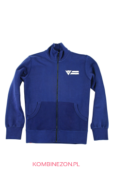 Dainese N`JOY FULL ZIP SWEAT SHIRT- Navy