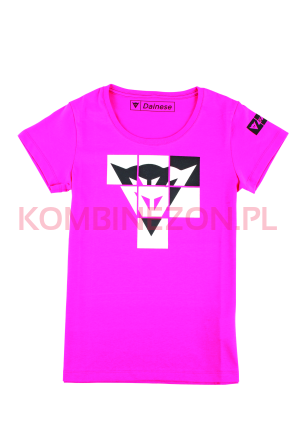 T-SHIRT Dainese ANDY LADY- fuksja