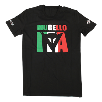 T-SHIRT Dainese - MUGELLO D1- black