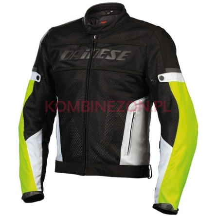 Dainese Air-Frame Tex nero/high-rise/giallo