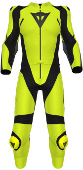 Kombinezon DAINESE AVRO D2 2 PCS LADY CRAZY YELLOW