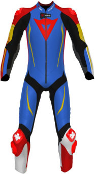 Kombinezon DAINESE D-AIR RACING MISANO 2 1PC Custom