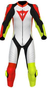 Kombinezon DAINESE LAGUNA SECA 4 1PC RED/YELLOW