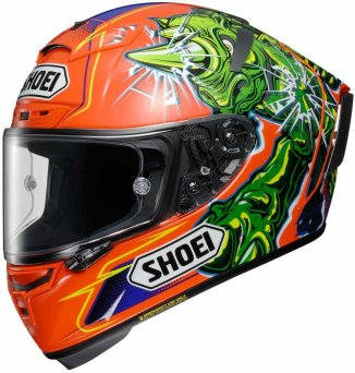 Kask Shoei X-Spirit 3 POWER RUSH TC-8